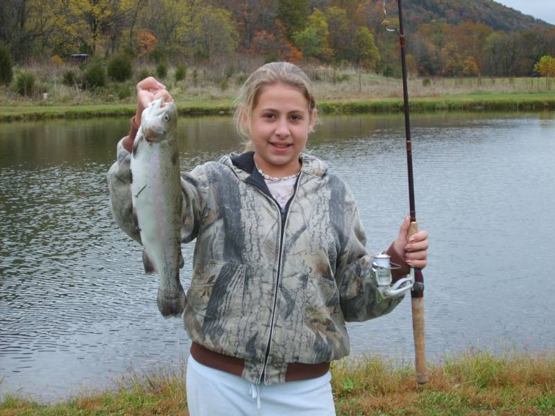 Contact us for Trout farm fishing